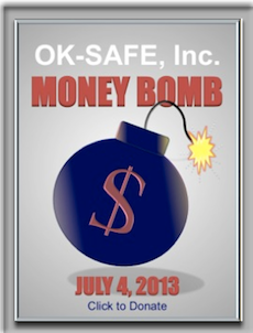 OK-SAFE INC Money Bomb Secure Donation