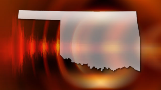 Earthquake tremors in Oklahoma