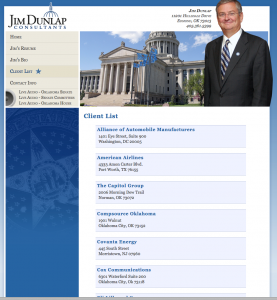 Jim Dunlap Consultants Client List